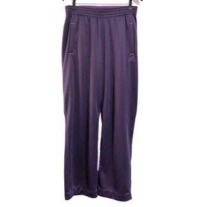 ❤️3/$30 Adidas Climalite purple track pants. M